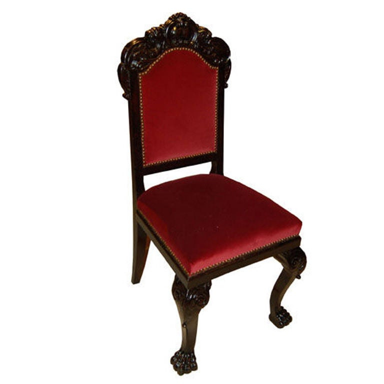 10 Neo Renaissance Dining Chairs For Sale