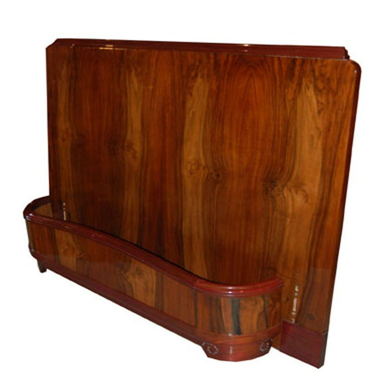 French Art Deco Bed Frame 1