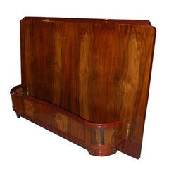 French Art Deco Bed Frame