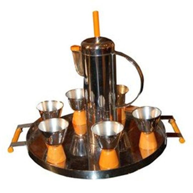 Cocktail Shaker Set by William Archibald Welden 1