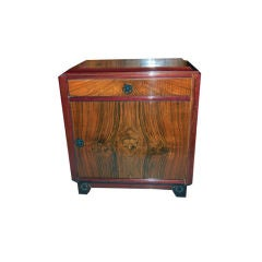 Art Deco Nightstand by Majorelle Nancy