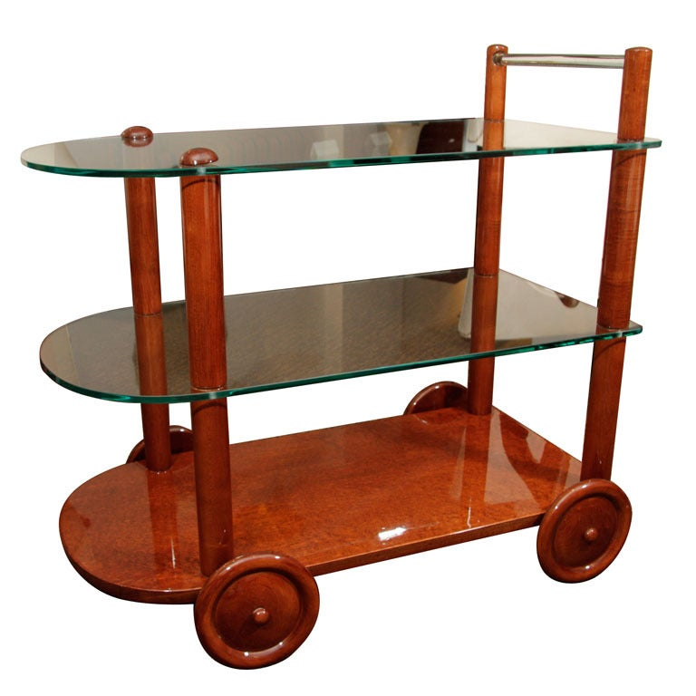 Midcentury Tea Cart