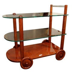 Mid-Century Tea Cart