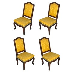 Four Neo Renaissance Side Chairs