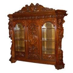 Neo Renaissance Bookcase