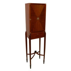French Art Deco Cabinet possibly by Leon Jallot