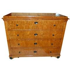 Biedermeier Butler Desk