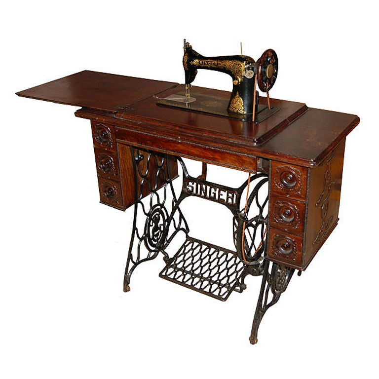 cabinet sewing machine
