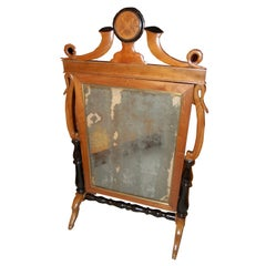 German Cheval Standing Mirror