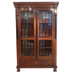 Biedermeier Bookcase / Vitrine