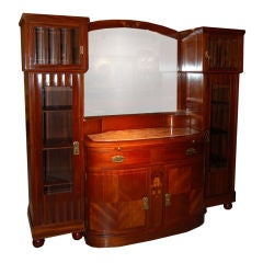 Early Art Deco Sezession Credenza