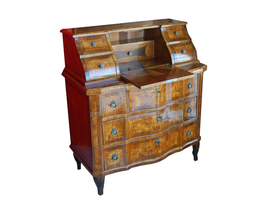 biedermeier bureau commode for sale at 1stdibs. Black Bedroom Furniture Sets. Home Design Ideas