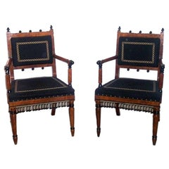 Arm Chairs in the manner of George Bullock