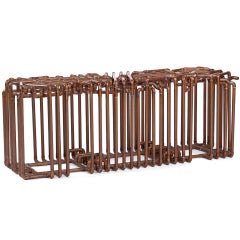 Bale: Bench in Copper by TJ Volonis