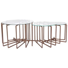 """""""Tri-Table"""" in Copper by TJ Volonis"""