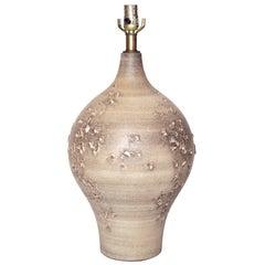 'Topographic' Ceramic Table Lamp by Design Technics