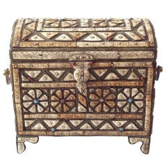 Fabulous Modern Moroccan Chest or Trunk