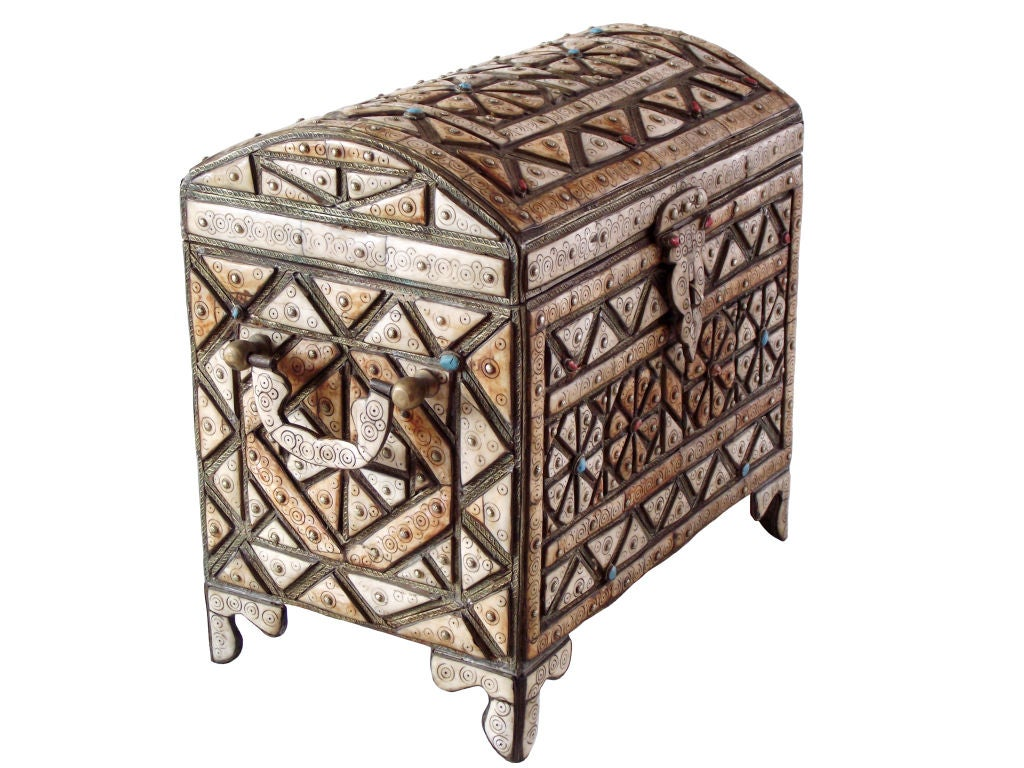 Sahara Marrakech Moroccan Gold Mirrored Upholstered Bench ...