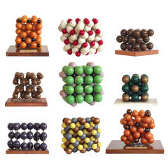 Collection of 23 Molecular Models from Harvard University