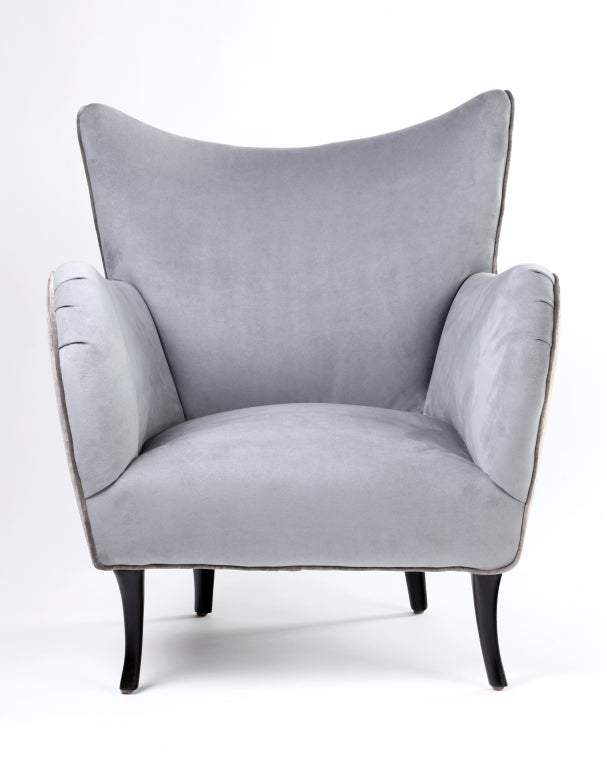 Luxurious American Moderne Armchair At 1stdibs