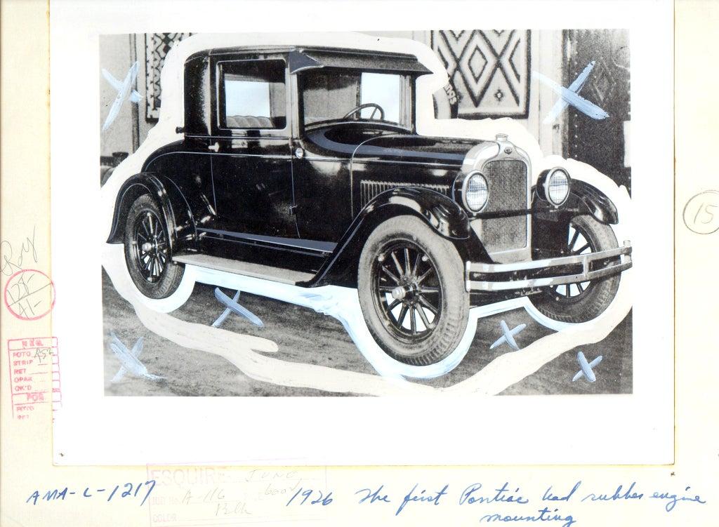 Antique Automobiles - Esquire Magazine Art Department c. 1940s 4