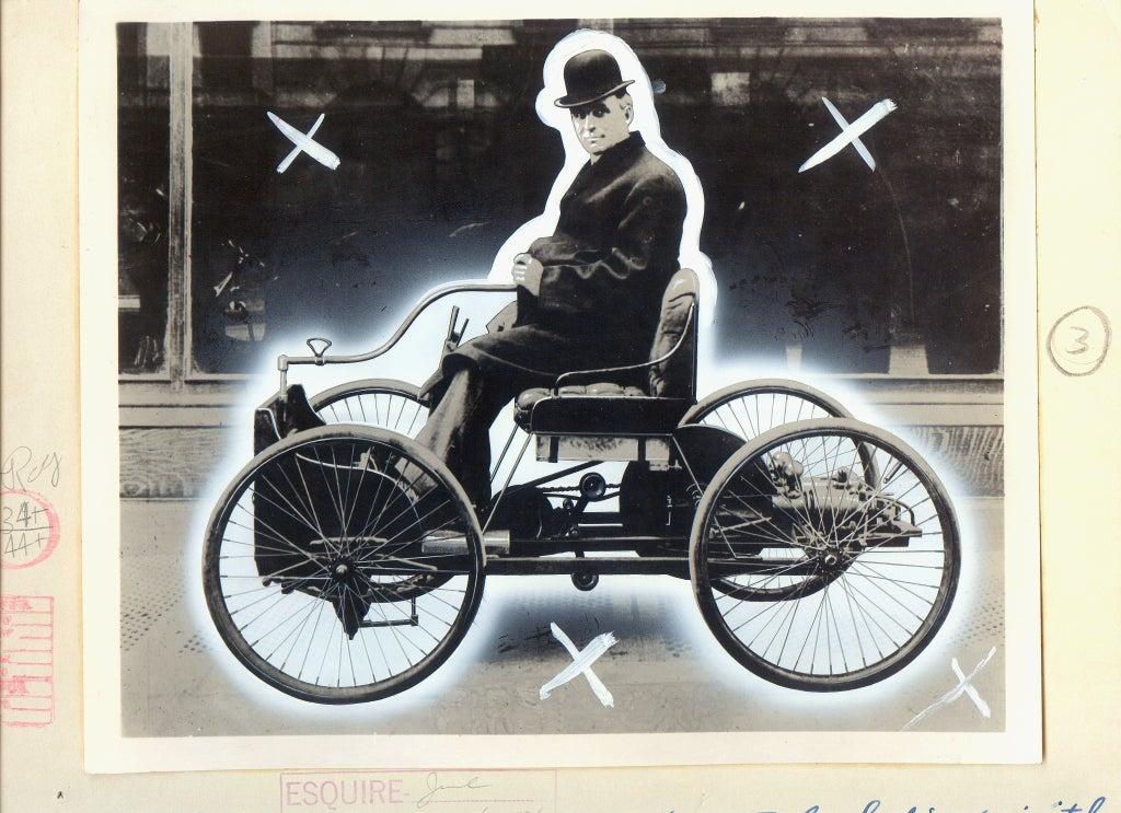 Antique Automobiles - Esquire Magazine Art Department c. 1940s 10