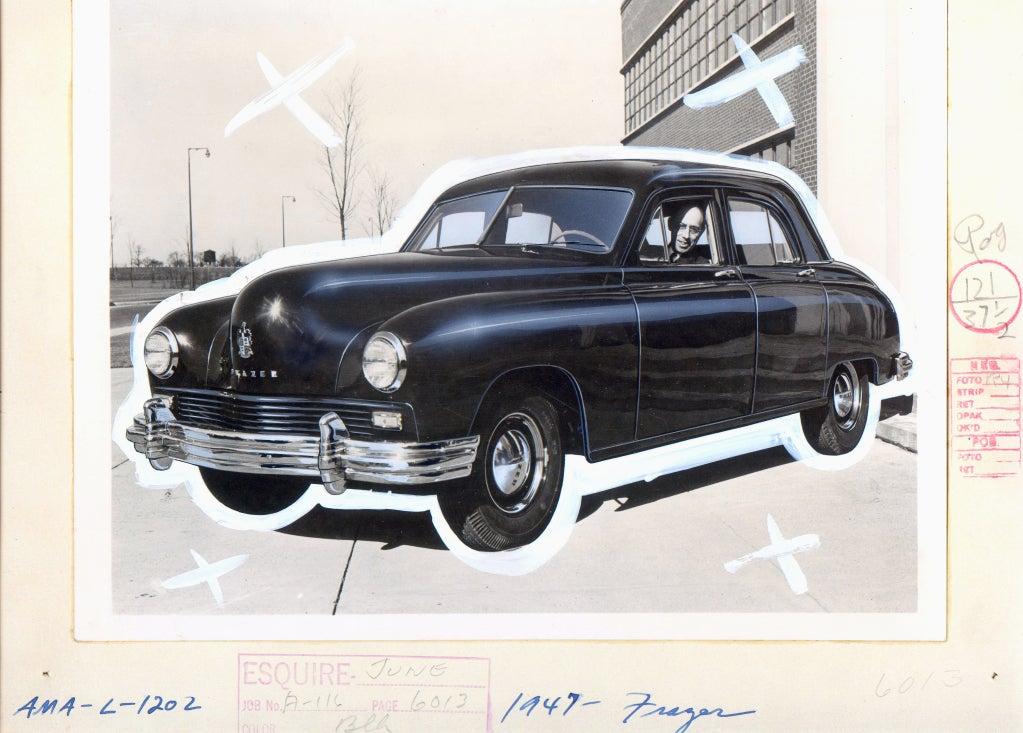 Antique Automobiles - Esquire Magazine Art Department c. 1940s 8