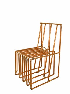 Chair in Copper by TJ Volonis