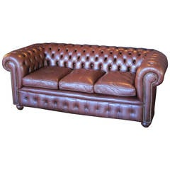 English Chesterfield Sofa