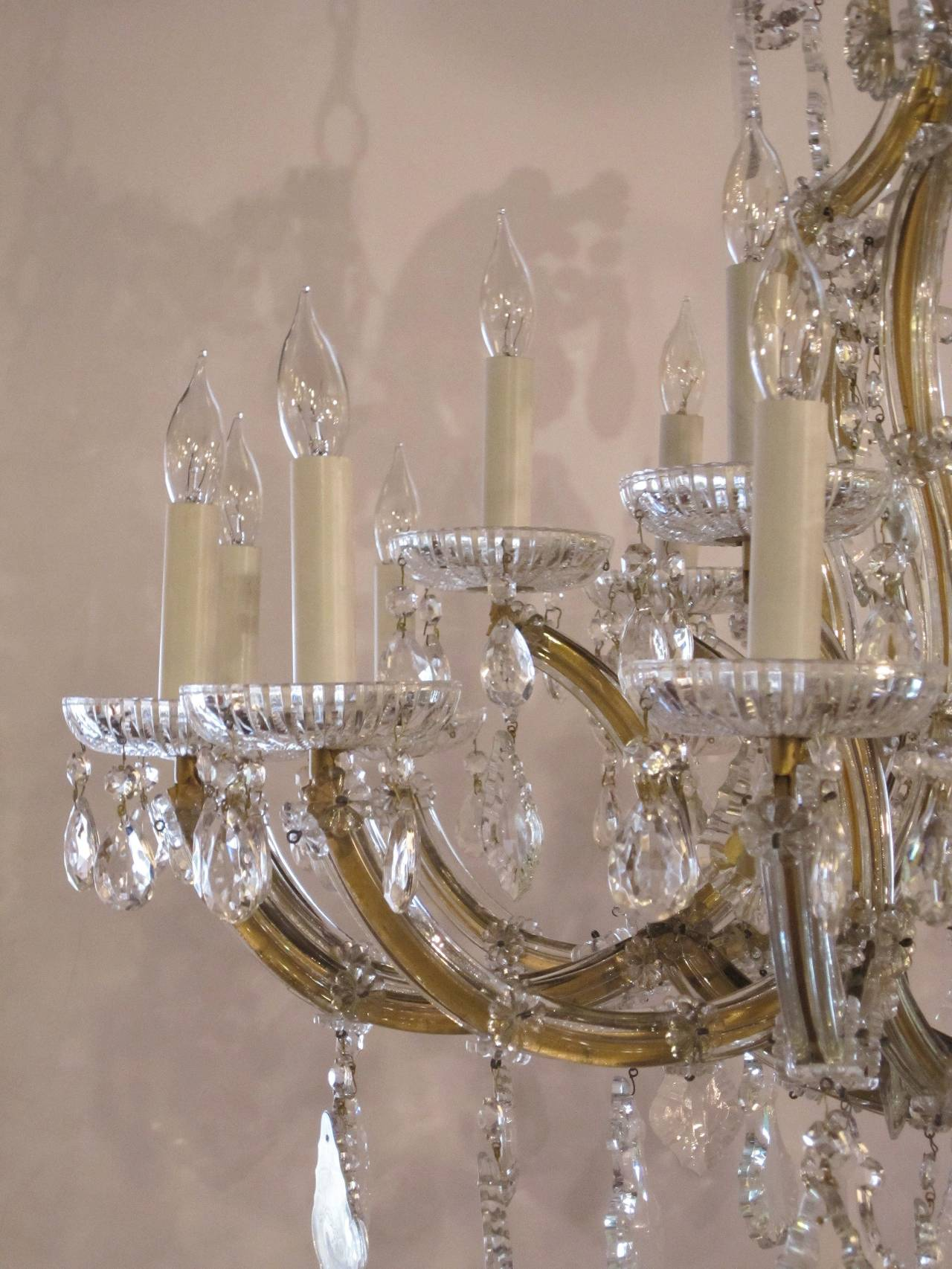 Large Maria Theresa Twenty-Two-Light Chandelier 5