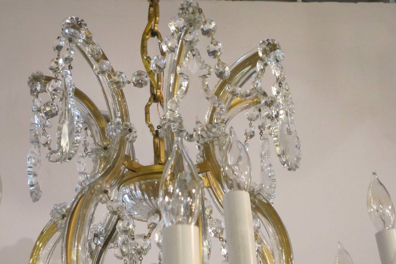 Large Maria Theresa Twenty-Two-Light Chandelier 4