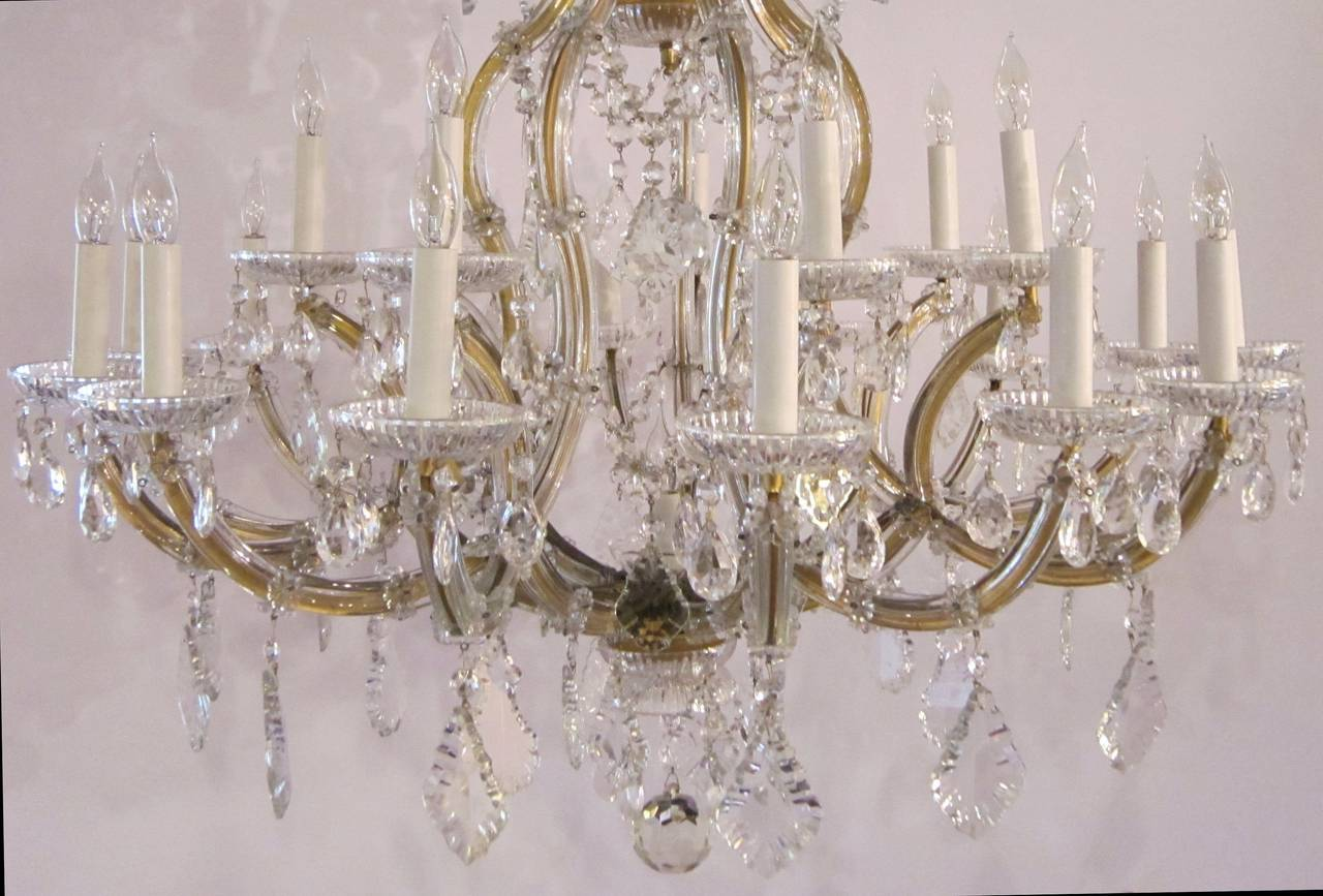 Large Maria Theresa Twenty-Two-Light Chandelier 10
