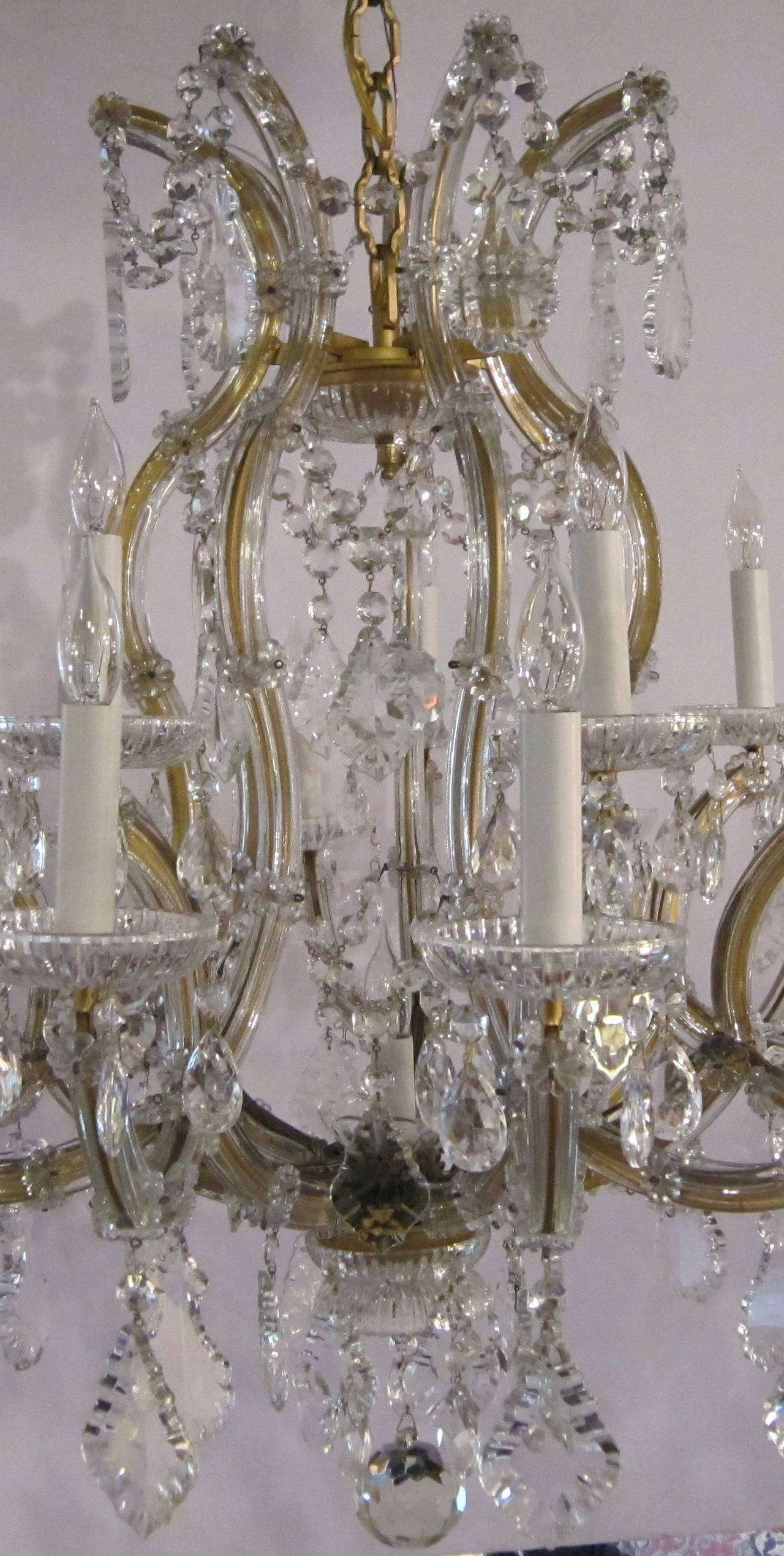Large Maria Theresa Twenty-Two-Light Chandelier 9