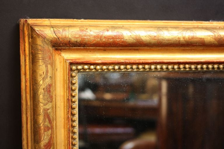 French Gilt Pier or Console Mirror (62 1/2 x 31) 2