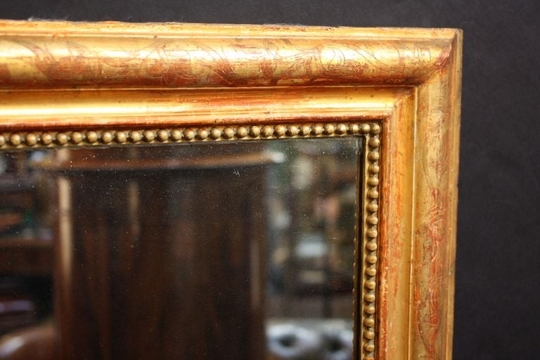 French Gilt Pier or Console Mirror (62 1/2 x 31) 3