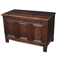 English Joined Chest or Coffer from the 17th Century