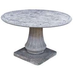 Large English Garden Stone Table