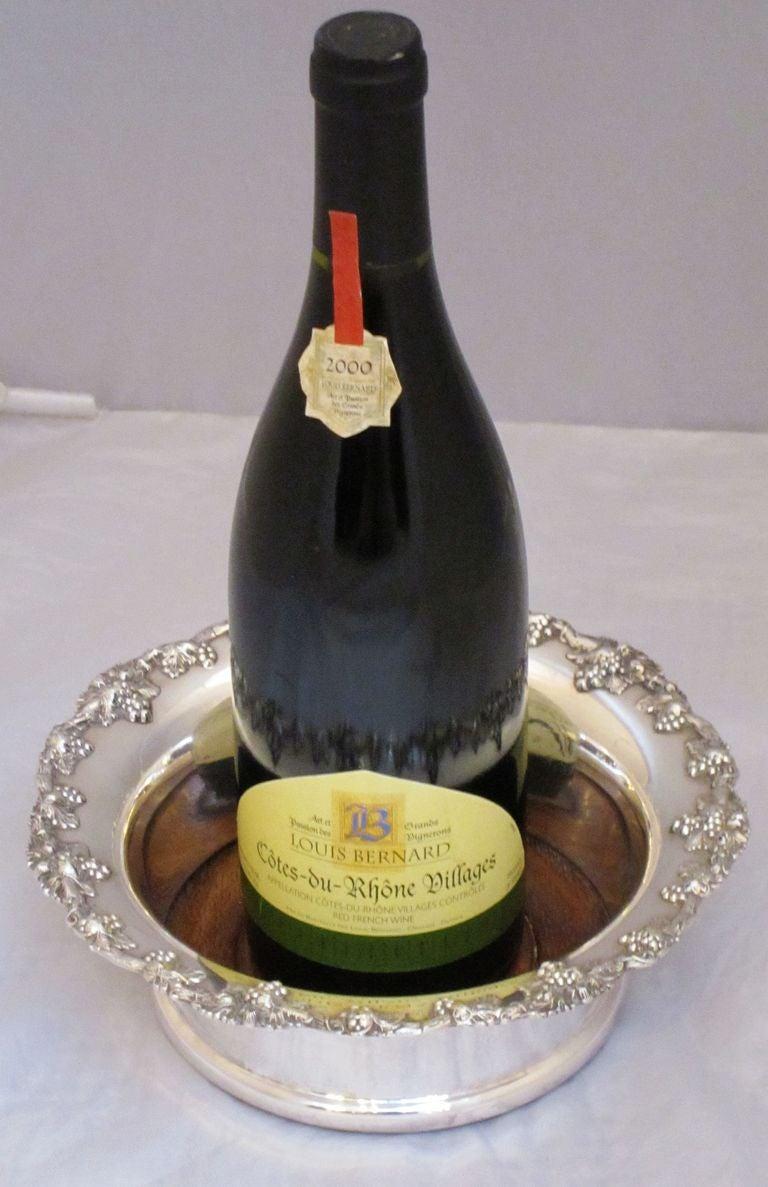 Large English Wine Coaster At 1stdibs