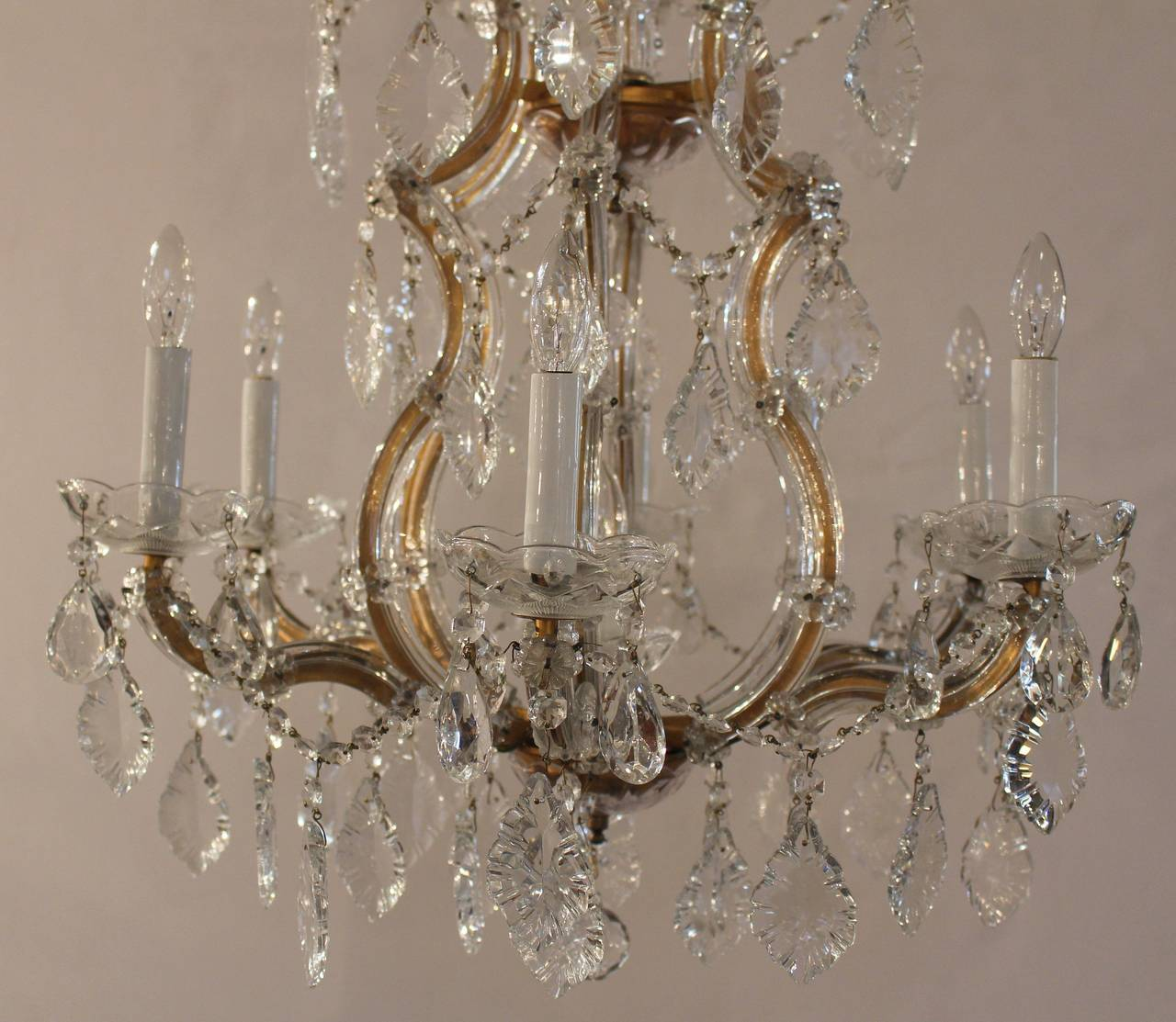 Maria theresa seven light chandelier at 1stdibs maria theresa seven light chandelier 3 arubaitofo Choice Image