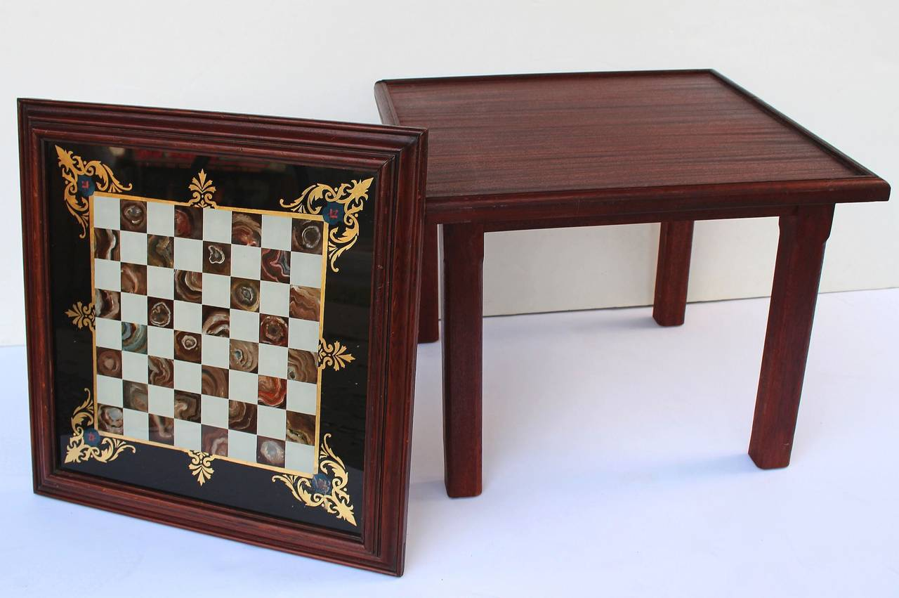 English low table with chess board top for sale at 1stdibs for England table