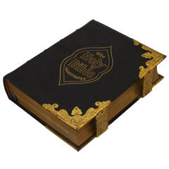 Large Scottish Holy Bible from the 19th Century