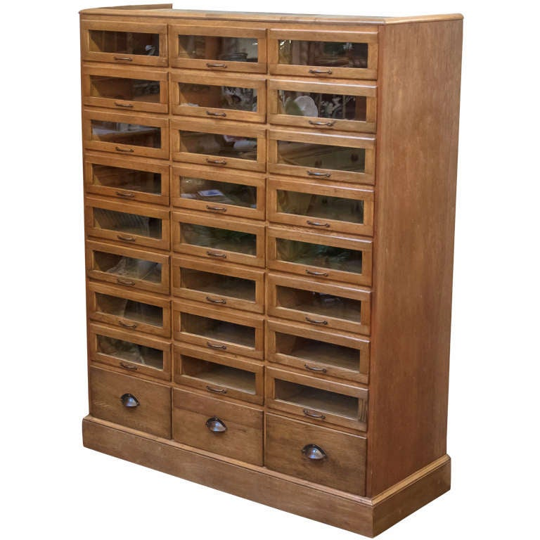Haberdashery Cabinet from England at 1stdibs