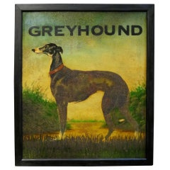 English Pub Sign - Greyhound