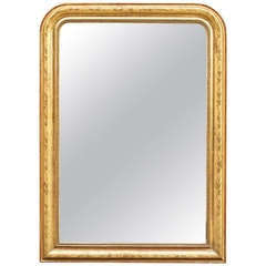 Louis Philippe Large Gilt Mirror