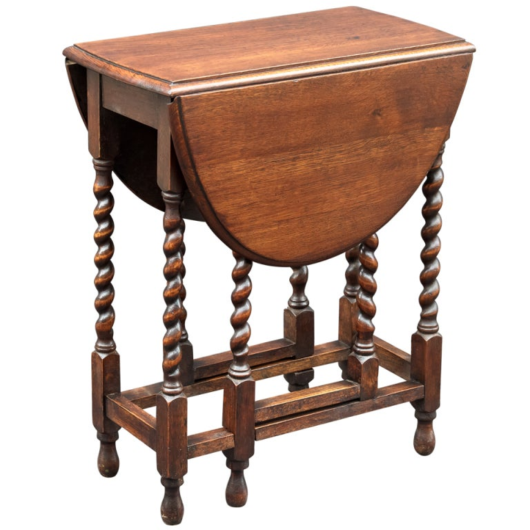 Xxx t0337 oak dropleaf gateleg table - Gateleg table with chairs ...