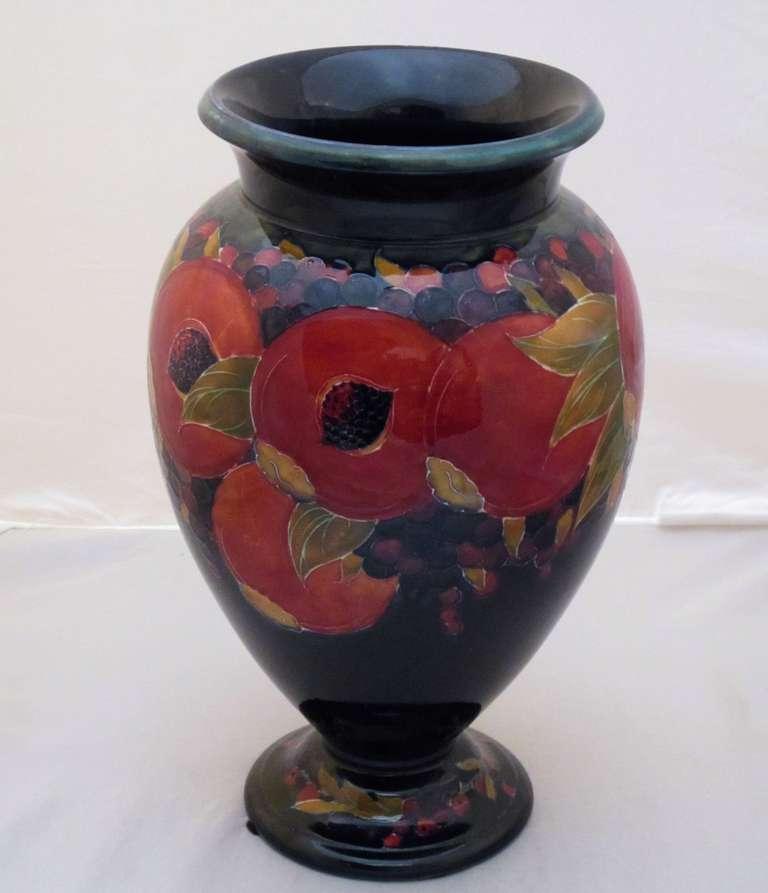 Large Moorcroft Vase Pomegranate Pattern At 1stdibs