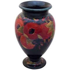 Large Moorcroft Vase with Pomegranate Pattern