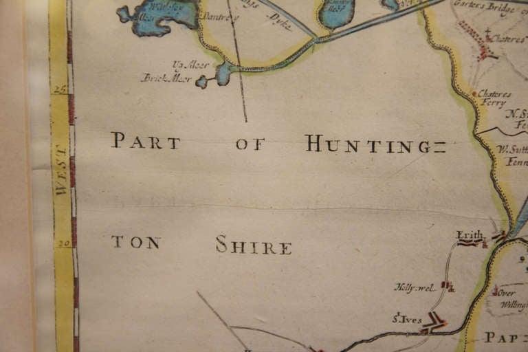 18th Century Map of Cambridgeshire 4
