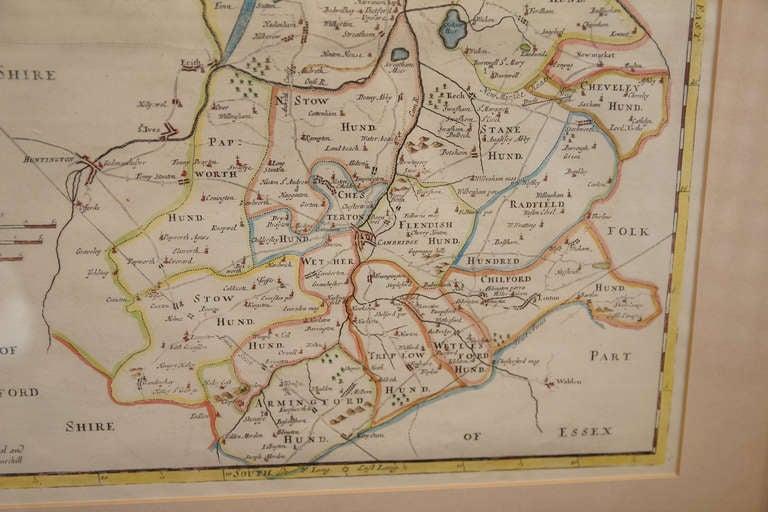 18th Century Map of Cambridgeshire 6