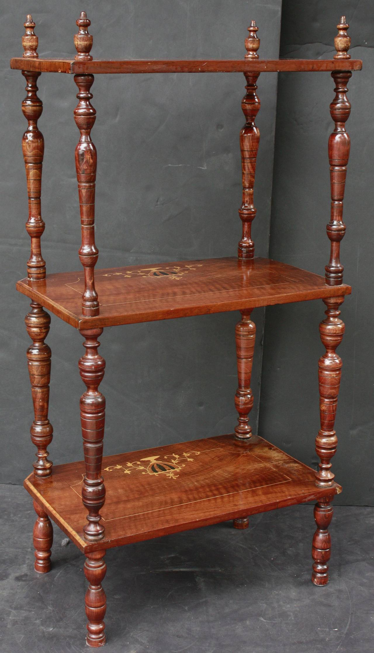 scottish etagere or whatnot at 1stdibs. Black Bedroom Furniture Sets. Home Design Ideas
